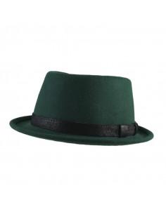 gorra pana piel negro hombre 1