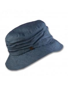 Sombrero casual de lino para uso diario.