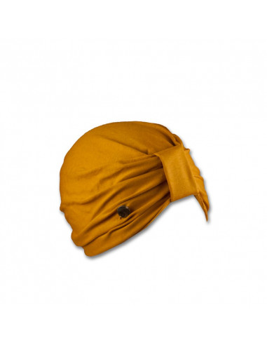 Elegante turbante de viscosa.