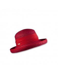 Bonito sombrero rojo para mujer.