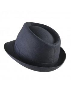 sombrero impermeable plegable negro sport 1