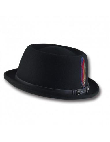 Sombrero PORK PIE WOOLFELT TALLA SOMBREROS Small cd31de44e62